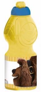 Fľaša Tajný život maznáčikov , Barva - Žltá , Velikost lahve - 400 ml