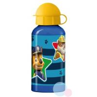 Fľaša Tlapková Patrola ALU , Barva - Modrá , Velikost lahve - 400 ml