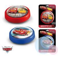Lampička Cars Disney LED , Barva - Červená