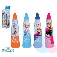 Lampička Frozen Anna LED , Barva - Malinová