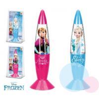 Lampička Frozen LED , Barva - Malinová