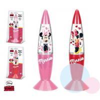 Lampička Minnie LED , Barva - Ružová