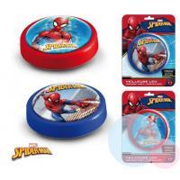 Lampička Spiderman LED , Barva - Modrá