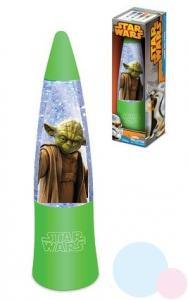 Lampička Yoda LED , Barva - Zelená