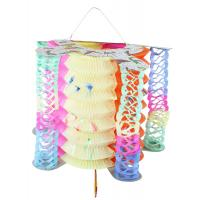 Lampion čínský ozdobný , Barva - Barevná