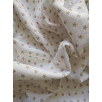 Látková plena s potiskem Hvězdičky , Barva - Biela , Rozměr textilu - 70x70