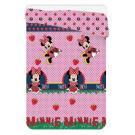 Letná prešívaná deka Minnie jahody , Barva - Ružová , Rozměr textilu - 180x260