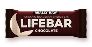 Lifebar čokoládová BIO , Velikost balení - 47g