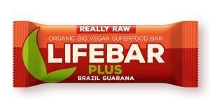 Lifebar PLUS brazílská s guaranou BIO , Velikost balení - 47g