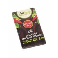 Lifefood Mini čokoládka s chilli BIO , Velikost balení - 15g
