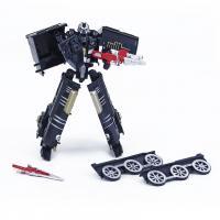 Lokomotíva / robot rozložiteľný , Barva - Čierna