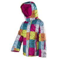 Lyžiarska bunda , Velikost - 98 , Barva - Růžovo-modrá