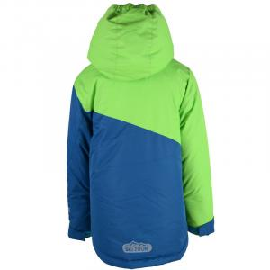 Lyžiarska bunda , Velikost - 116 , Barva - Modro-zelená