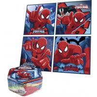 Magický uteráčik Spiderman , Rozměr textilu - 30x30 , Barva - Modrá