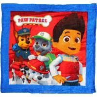 Magický uterák labková patrola III. , Rozměr textilu - 30x30 , Barva - Modro-červená