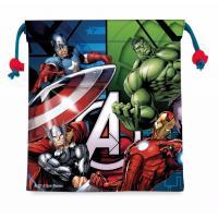 Pytlík na přezůvky Avengers - malý , Velikost - Uni