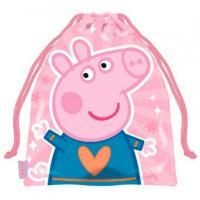 Vrecúško na prezuvky Peppa Pig , Barva - Ružová