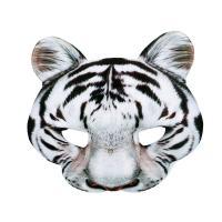 Maska biely tiger , Barva - Bielo-čierna