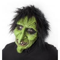 Maska čarodějnice , Barva - Zelená