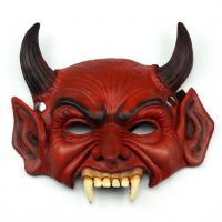 Maska čert , Barva - Červená
