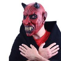 Maska čert s ušima , Barva - Červená