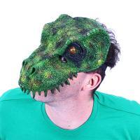 Maska dino , Barva - Zelená