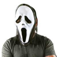 Maska duch Vřískot Halloween , Barva - Barevná