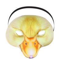 Maska kačička detská , Barva - Žltá