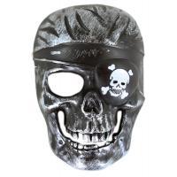 Maska kostra pirát , Barva - Šedá