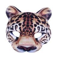 Maska leopard , Barva - Hnedá