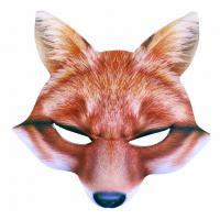 Maska líška , Barva - Oranžová