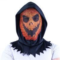 Maska oranžová textilní , Barva - Barevná