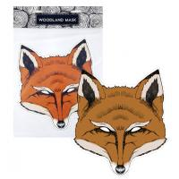 Maska líška , Barva - Hnedá
