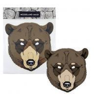 Maska medveď , Barva - Hnedá