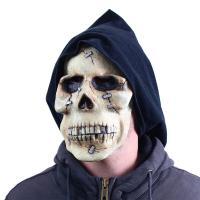 Maska Smrtka - Halloween , Barva - Béžová