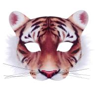 Maska tiger , Barva - Oranžová