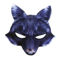 Maska vlk , Barva - Tmavo šedá