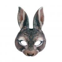 Maska zajac , Barva - Hnedá