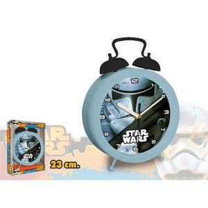 MAXI hodiny Star Wars Stormtrooper - hodiny , Barva - Šedá