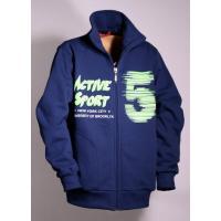 Mikina ACTIVE SPORT , Velikost - 146 , Barva - Tmavo modrá
