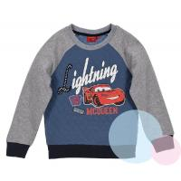 MIKINA CARS , Barva - Modro-šedá , Velikost - 128