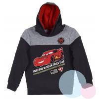 MIKINA CARS , Velikost - 98 , Barva - Antracitová
