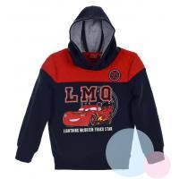 MIKINA CARS , Barva - Modro-červená , Velikost - 128
