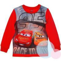 MIKINA CARS , Velikost - 98 , Barva - Červená