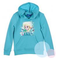 MIKINA Frozen Disney , Velikost - 110 , Barva - Tyrkysová