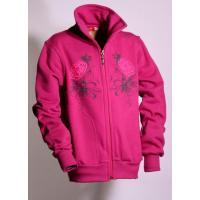 Mikina LILY , Barva - Tmavo ružová , Velikost - 140
