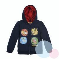 Mikina Pokémon , Velikost - 110 , Barva - Tmavo modrá