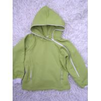 Mikina pre dievčatá s kapucňou , Barva - Zelená , Velikost - 128