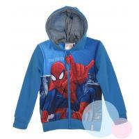 Mikina Spiderman , Velikost - 98 , Barva - Modrá