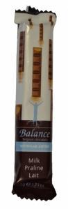 Mliečna čokoláda praliné Balance , Velikost balení - 35g